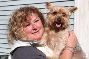 Baxter, my Silky Terrier